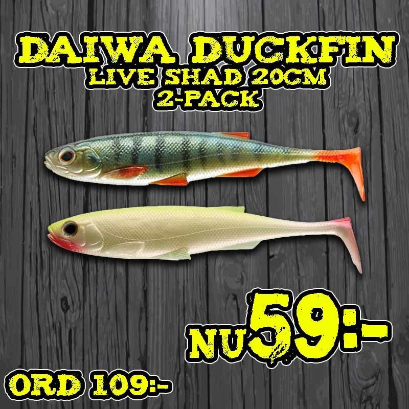 Daiwa Duckfin Liveshad 20cm Live Perch